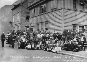Skulegata 5 - Odda - 1915