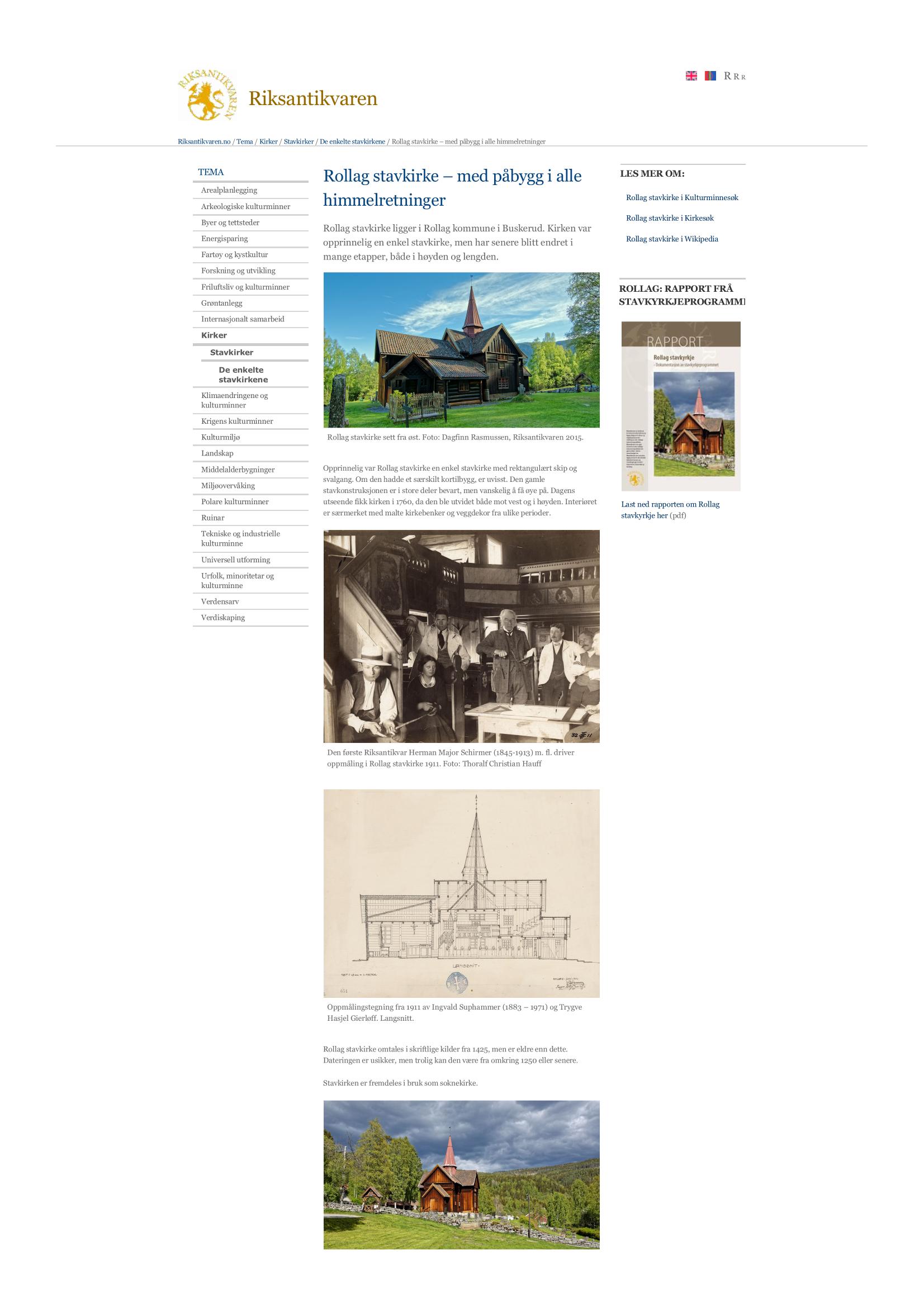 Rollag stavkirke – med påbygg i alle himmelretninger - Riksanti_Page_1