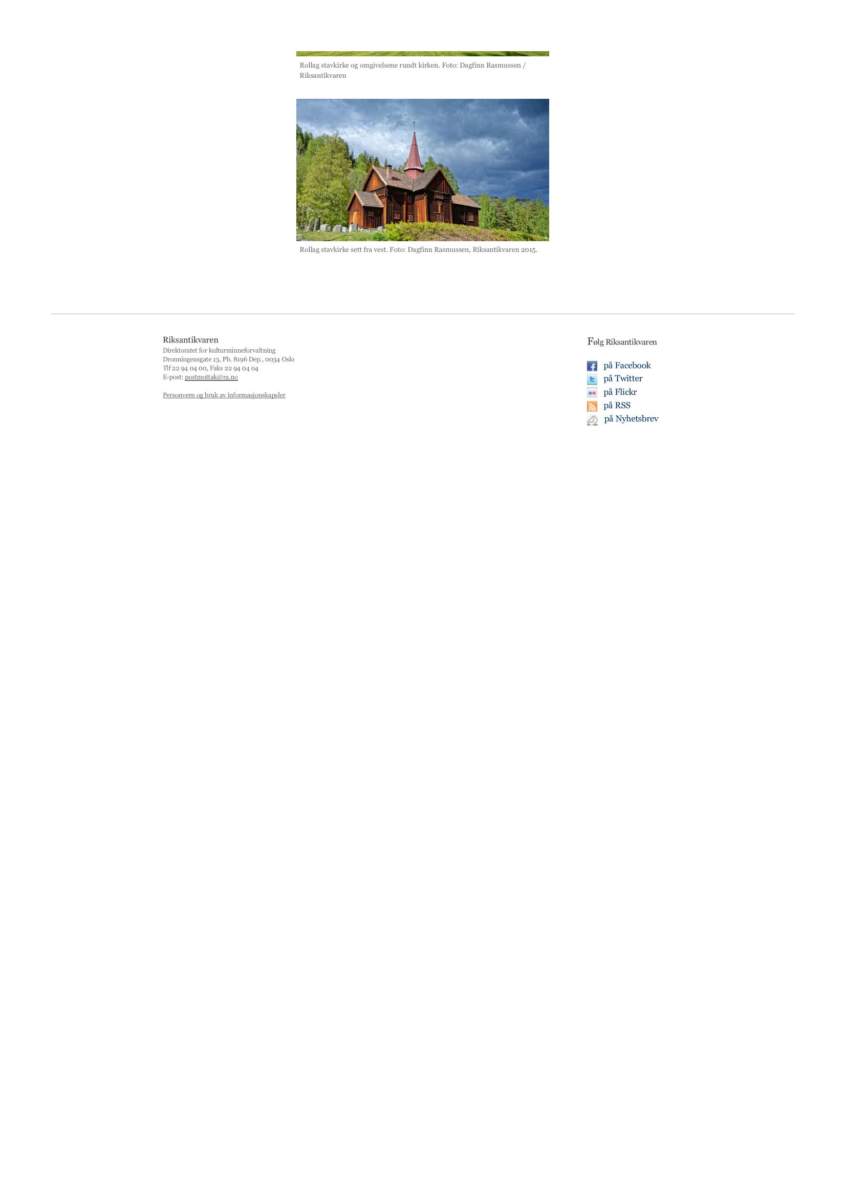 Rollag stavkirke – med påbygg i alle himmelretninger - Riksanti_Page_2